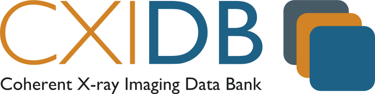 CXIDB - Coherent X-ray Imaging Data Bank